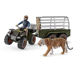 Schleich Quad mit Anhänger und Ranger 42351