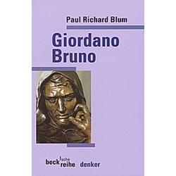 Giordano Bruno. Paul R. Blum  - Buch