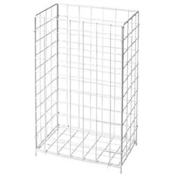 Fripa Papierkorb, 60 Liter, Sammelkorb ideal für Papierhandtücher in Waschräumen, 1 Stück, weiß
