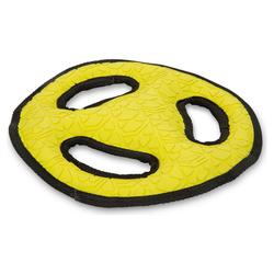 Beeztees Fetch Rubber Frisbee gelb