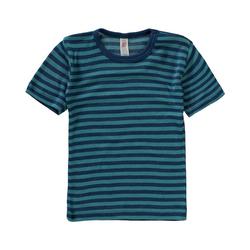 Engel Unterhemd Kinder Unterhemd Wolle/Seide blau