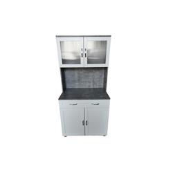 HTI-Line Küchenbuffet Küchenbuffet Blanca Leicht zu reinigen weiß