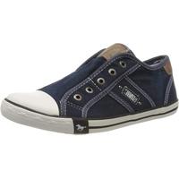 MUSTANG Sneakers Low Sneaker, Blau 41