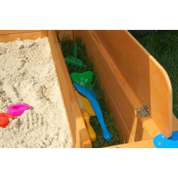 GASPO Aufbewahrungsbox, für Sandkasten Mickey, BxLxH: 20x120x20 cm