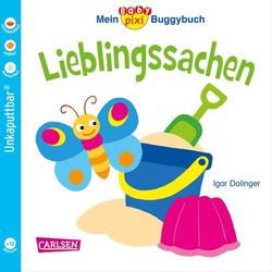 Carlsen Verlag Baby Pixi 46 Buggy-Buch Lieblingssachen