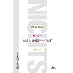 Nichts. Janne Teller  - Buch