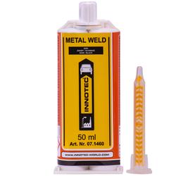 INNOTEC Metal Weld 50 ml 2K Metallkleber weiß