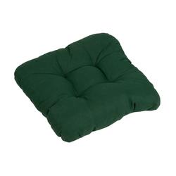 GO-DE Dekokissen, 2er Set grün Dekokissen uni Kissen