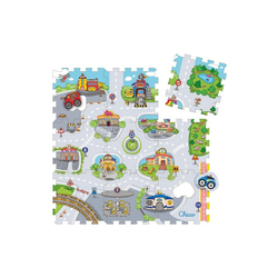 Chicco Puzzle Mov'n Grow, City, 9 Puzzleteile