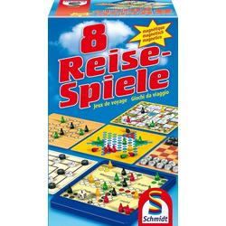 Schmidt Spiele Spiel, Spielesammlung 8 Reise-Spiele, magnetisch
