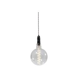 KARE Stehlampe Glühbirne LED Power Station