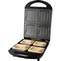 EMERIO ST-111153 Sandwich-Toaster Schwarz