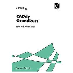 CADdy Grundkurs - Buch