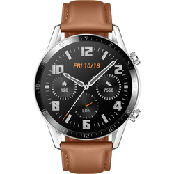 HUAWEI Watch GT 2 (46 mm) Smartwatch L Braun