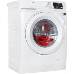 AEG Waschmaschine, L6FBA5670 D (A bis G) weiß Waschmaschinen Haushaltsgeräte Waschmaschine