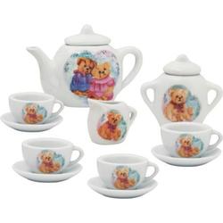 AM Tee-Service aus Porzellan 11-tlg