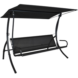 Angerer Elegance Style Design eisengrau/creme 3-Sitzer