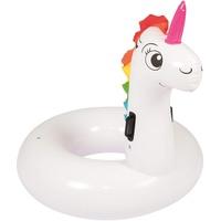 BESTWAY 36123 Aufblasbares Spielzeug für Pool & Strand Mehrfarben, Pink Vinyl Schwimmring