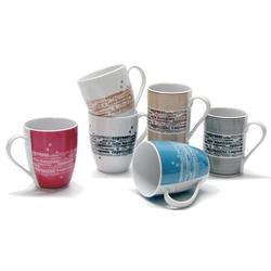 Retsch Arzberg Becher Kaffee (6-tlg), Porzellan