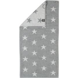 CAWÖ Small Stars 525 Handtuch (50 x 100 cm) silber