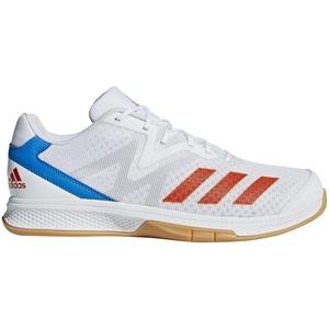 adidas Herren Counterblast Exadic Handballschuhe, Weiß (Ftwbla/Rojsol/Azubri 000), 38 EU
