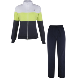 Get Fit Woman Suit Color Block - Trainingsanzug - Damen White/Green