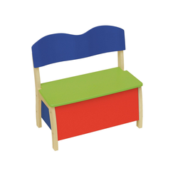 roba Truhenbank Kinderbank, bunt Kinder Kinderstühle Kindermöbel