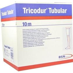 TRICODUR Schl.-Bandage Gr.F 10 cmx10 m weiß 1 St.