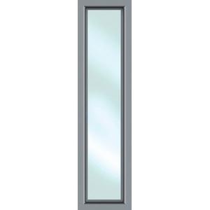 KM Zaun Türseitenteil S01, für Alu-Haustür, grau