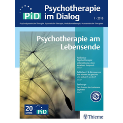 Psychotherapie im Dialog - Psychotherapie am Lebensende: eBook von