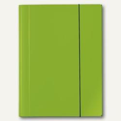 Sammelmappe VELOCOLOR®, A4, Karton, 15 mm Füllhöhe, 350g/qm, grün, 6St., 4442341