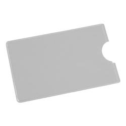 Scheckkartenhülle grau, EICHNER, 9x5.9 cm