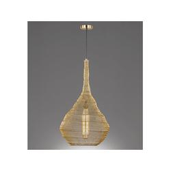 FISCHER & HONSEL LED Pendelleuchte, Couch-Tisch Ø 47 cm