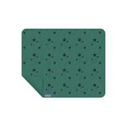 Babydecke Baby Decke / einlagig / Grüne Sterne, Dooky
