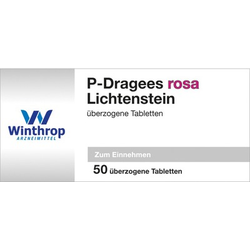 P DRAGEES rosa