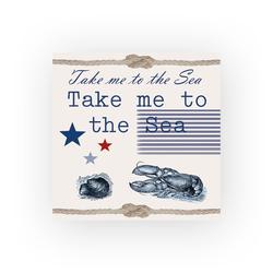 Ambiente Papierserviette Take me to the Sea, (5 St), 33 cm x 33 cm