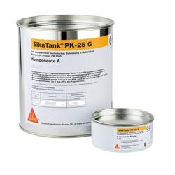 4 x Sika Tank PK 25 G grau 2K Polysulfid Dichtstoff gießfähig 2.5L Gebinde
