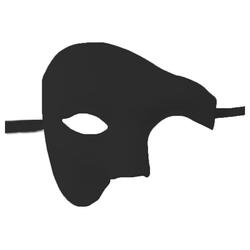 kueatily Fliegenmasken Maskerademaske, Phantom der Oper Halbgesichtsmaske Maske
