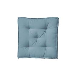 BUTLERS Sitzkissen SOLID Sitzkissen L 40 x B 40cm blau