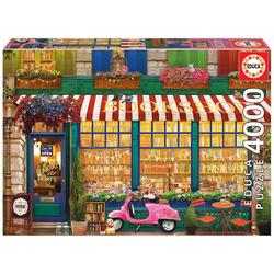 Educa Puzzle VINTAGE BOOKSHOP, 4000 Puzzleteile
