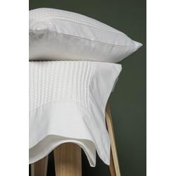 Tagesdecke Klassische Tagesdecke mit schönem Waffelmuster, turiform weiß 50 cm