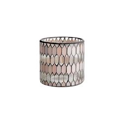 BUTLERS Teelichthalter SHIMMER&SHINE Teelichthalter H 10cm