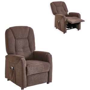 TV-Sessel mit Aufstehhilfe - espresso - 75 cm breit