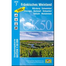 Fränkisches Weinland 1 : 50 000 (UK 50-7)