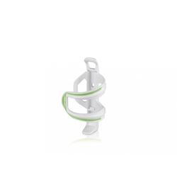 XLC Fahrrad-Flaschenhalter XLC Flaschenhalter Sidecage weiß/grün