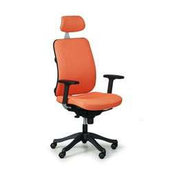 Bürostuhl bruggy, oranger bezug