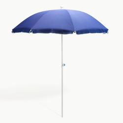Strandschirm blau 180 cm UV30 Sonnenschirm Gartenschirm Schirm