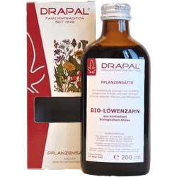 LÖWENZAHNBLÄTTER Bio Pflanzensaft Drapal 200 ml
