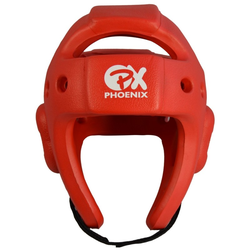 PX Kickbox-Kopfschutz EXPERT rot (Größe: M, Farbe: Rot)