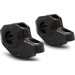 SW-Motech 28mm-Lenker 30/22mm, Lenkerverlegung - Schwarz